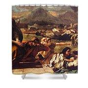 tiepolo15 Giovanni Battista Tiepolo Shower Curtain