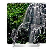 Tiered Falls Shower Curtain