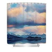 Tierra Del Fuego Shower Curtain