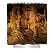 Tiers Of Formation - Cave Shower Curtain