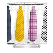 Ties Shower Curtain