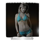 Tiffany Blue Shower Curtain