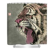 Tiger - 11 Shower Curtain