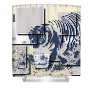 Tiger 5 Shower Curtain
