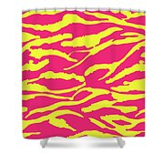Tiger Stripes Shower Curtain