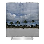 Tiger Tail Beach Shower Curtain