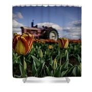 Tiger Tulip Shower Curtain