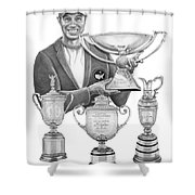Tiger Woods-decades Best Shower Curtain