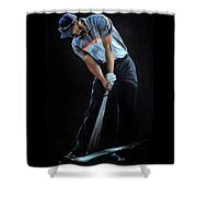 Tiger Woods Shower Curtain