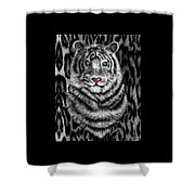 Tigerflouge Shower Curtain