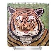 Tigerish Shower Curtain