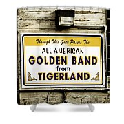 Tigerland Band Shower Curtain