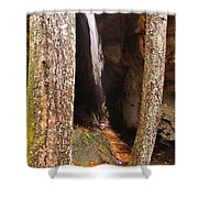 Tight Spaces Shower Curtain
