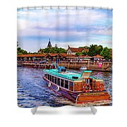 Tigre Delta 015 Shower Curtain