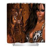 Tigress # 2 Shower Curtain