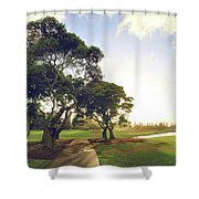 'til I'm In Your Arms Again Shower Curtain