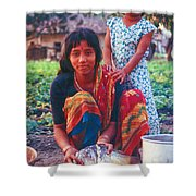 Tilak Devi 1995 Shower Curtain