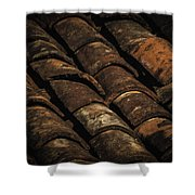 Tile Roof 1 Shower Curtain