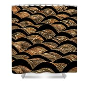 Tile Roof 4 Shower Curtain