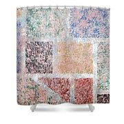 Tile Splash Shower Curtain