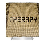 Tile Therapy Shower Curtain