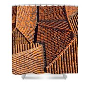 Tiles Kiss Shower Curtain