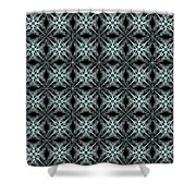 Tiles.2.274 Shower Curtain