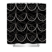 Tiles.2.277 Shower Curtain