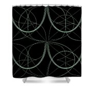 Tiles.2.283 Shower Curtain