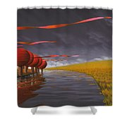 Tilia Ora Shower Curtain