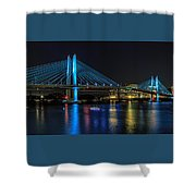 Tilikum Crossing Shower Curtain
