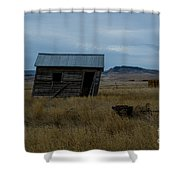 Tilt 2 Shower Curtain