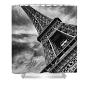 Tilted Tower Shower Curtain