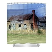 Wacky Shack Shower Curtain