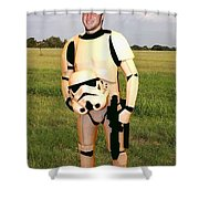 Tim Tebow Stormtrooper Shower Curtain