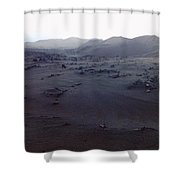 Timanfaya National Park Shower Curtain