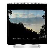 Timberholm Inn Morning View Stowe Vt Poster Shower Curtain