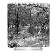 Timberland Infrared No3 Shower Curtain
