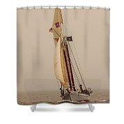 Timberwind Shower Curtain