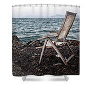 Time And Memory Shower Curtain