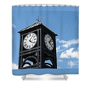 Time And Time Again Shower Curtain