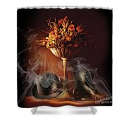 Time Capsule Shower Curtain