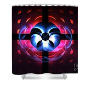 Time Continuum Shower Curtain
