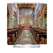 Time For Church Shower Curtain