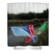 Time For Optimism Shower Curtain