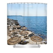 Time For Relaxation Shower Curtain