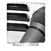 Time For Song Shower Curtain