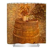 Time For Wine - 6015 Shower Curtain
