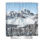 Time Freeze Shower Curtain