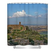 Time Has Stopped Shower Curtain